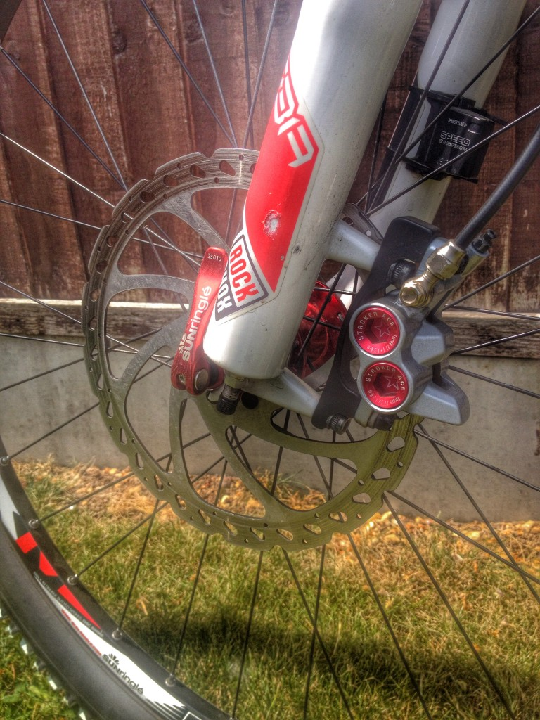 Cube AMS 100 Comp Front Brakes