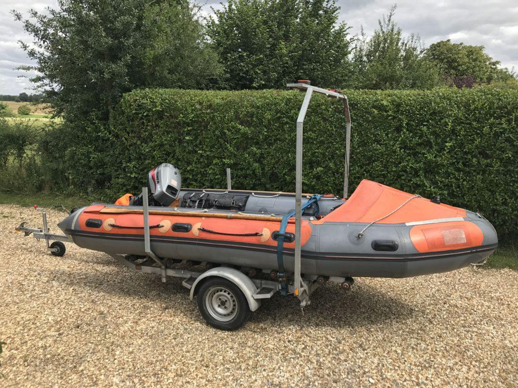 RNLI D-Class Life Boat